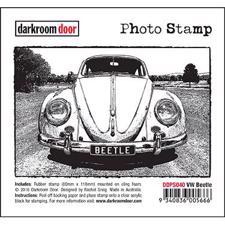Darkroom Door Stamp - Photo Stamp / WV Beetle