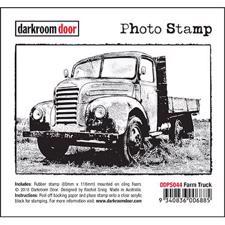 Darkroom Door Stamp - Photo Stamp / Farm Truck