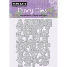 Hero Arts Frame Cuts - Alphabet Uppercase