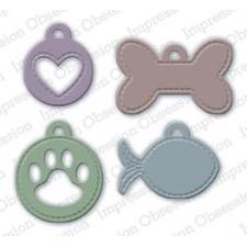 Impression Obsession (IO) Die - Pet Tags