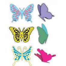 Cheery Lynn Die - Exotic Butterfly & Angel Wing  Small (6 dele)