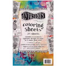 Dylusion - Colouring Sheets