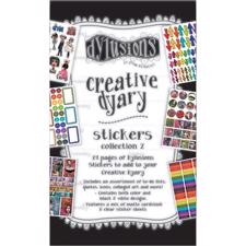 Dylusion - Creative Dyary Sticker Book 2