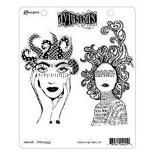 Cling Rubber Stamp Set - Dylusions / Survivor
