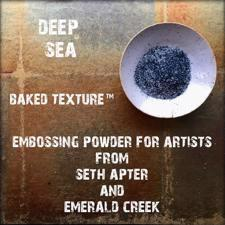 Baked Texture Embossing - Deep Sea