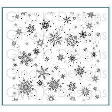 Gina K Design Background Stamp - Delicate Snowflake