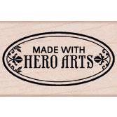 Wood Stamp - Made with Hero Arts