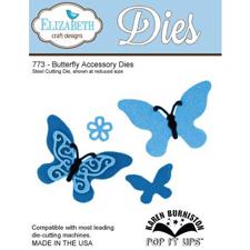 Elizabeth Crafts Die - Butterfly Accessory