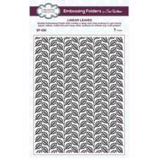 Creative Expressions Embossing Folder - Linear Leaves