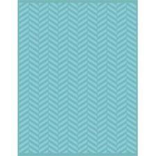 Teresa Collins Embossing Folder - A4 / Twill Herringbone