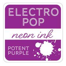 Gina K ElectroPop Neon Ink Pad - Potent Purple