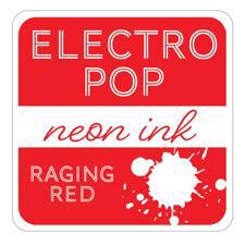 Gina K ElectroPop Neon Ink Pad - Raging Red