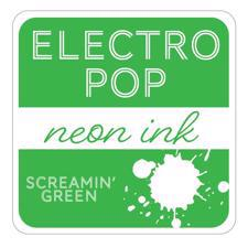 Gina K ElectroPop Neon Ink Pad - Screamin' Green
