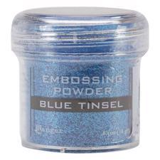 Ranger Embossing Powder - Tinsel (glitter) Blue