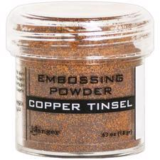 Ranger Embossing Powder - Tinsel (glitter) Copper