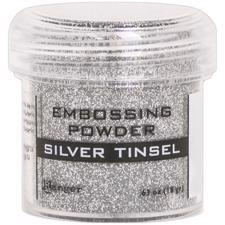 Ranger Embossing Powder - Tinsel (glitter) Silver
