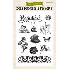 Echo Park STAMPS - Beautiful Girl