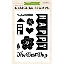 Echo Park STAMPS - Happy Family