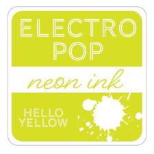Gina K ElectroPop Neon Ink Pad - Hello Yellow
