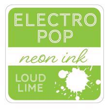 Gina K ElectroPop Neon Ink Pad - Loud Lime