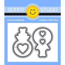 Sunny Studio Stamps - DIES / Eskimo Kisses