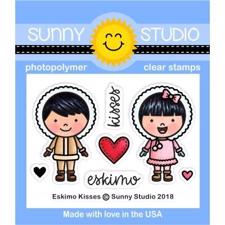 Sunny Studio Stamps - Clear Stamp / Eskimo Kisses