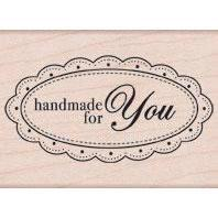Wood Stamp - Handmade for You