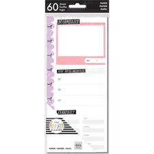Happy Planner / Create 365 - Half Sheet Fill Paper / Currently (std)