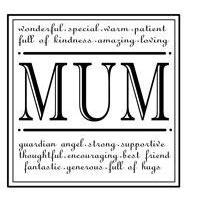 Clear Stamp - Mum
