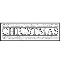 Clear Magic Stamp - All About Christmas