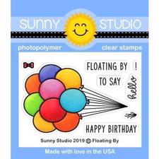 Sunny Studio Stamps - Clear Stamp / Floating By