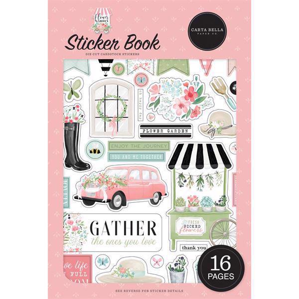 Carta Bella - Flower Garden / Sticker Book