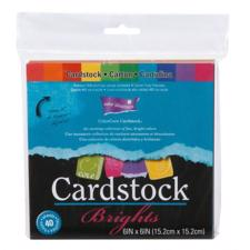 "ColorCore Cardstock Set 6x6"" - Brights"