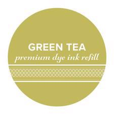 Catherine Pooler Ink REFILL - Green Tea (flaske)