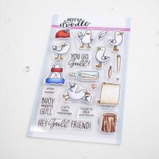 Heffy Doodle Clear Stamps - You Go, Gull