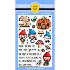 Sunny Studio Stamps - Clear Stamp / Home Sweet Gnome