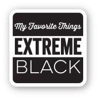 My Favourite Things HYBRID Ink CUBE - Extreme Black (sort / lille)
