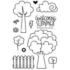 Paper Smooches Clear Stamp Set - Summer Groves