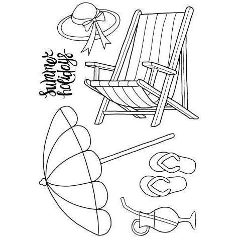 Clear Singles Stamp - The Deck Chair