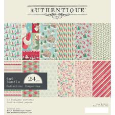 "Authentique Bundle 6x6"" - Jingle"