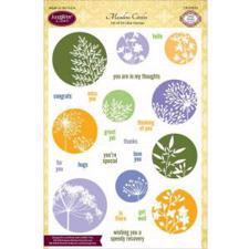 Just Rite Clear Stamp Set - Meadow Circles