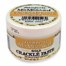 Stamperia Crackle Paste - Gold