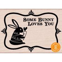 Wood Stamp - Some Bunny