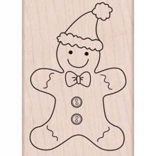 Wood Stamp - Gingerbread Fun (Holidays 2012)