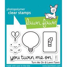 Lawn Fawn Clear Stamps - Turn Me On