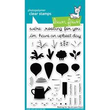 Lawn Fawn Clear Stamps - Rooting for You