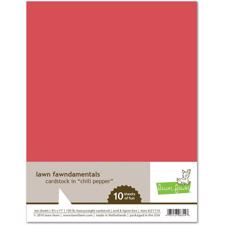 Lawn Fawn Cardstock - Chili Pepper