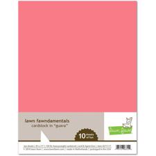 Lawn Fawn Cardstock - Guava