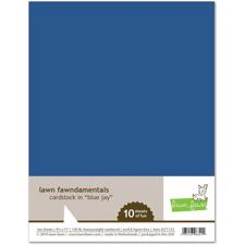 Lawn Fawn Cardstock - Blue Jay