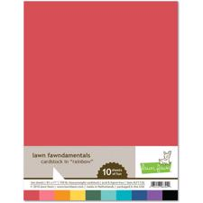 Lawn Fawn Cardstock - Rainbow Pack